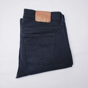 J. Crew Matchstick Black Jeans  Sz 28